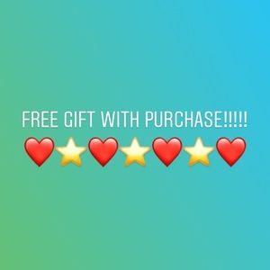 FREE WITH PURCHASE!!!